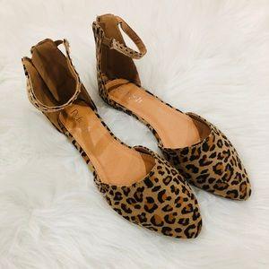 RESTOCK!Animal Tan Leopard print Flat- Shoe